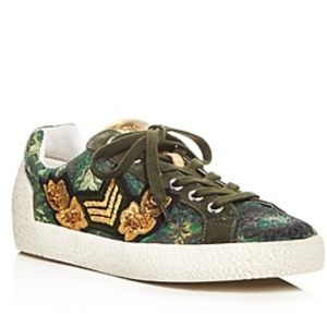 NWT! Ash Military Style Lace-up Sneaker